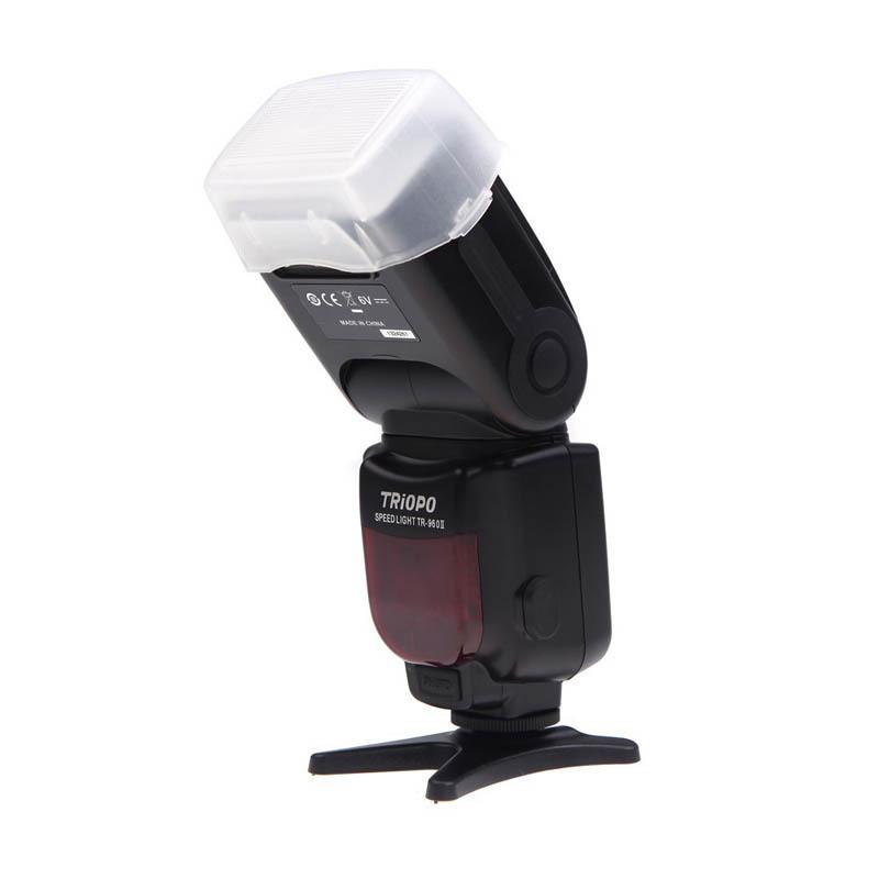 Camera Flash Light TRIOPO TR-960 II High-quality Wireless Speedlite Light Manual Zoom for Nikon Canon Pentax Olympus DSLR Camera(China (Mainland))
