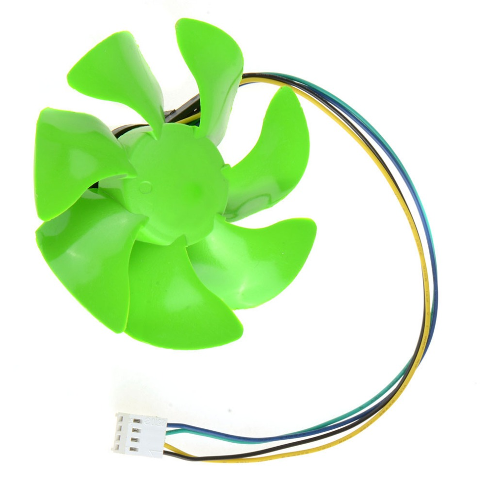 4 Pin Green 85MM Personal Computer Cooling Fans PC Computer Component Cooler Fan Accessories VCE57 P72(China (Mainland))