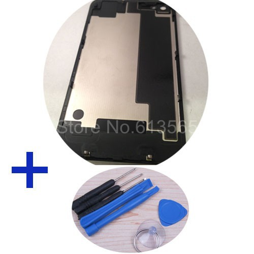 Back Cover Housing For iPhone 4S w/7 in 1 Repair Tools 50sets Free Shipping(China (Mainland))
