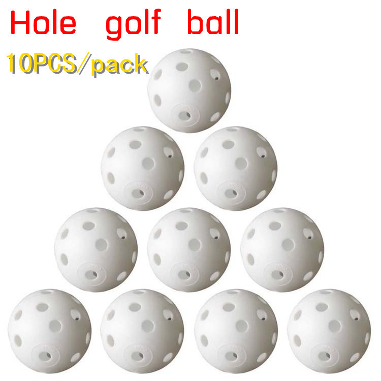 Free Shipping 10pcs/lot Indoor golf, golf practice balls, golf ball into the hole, Golf Training Aids(China (Mainland))