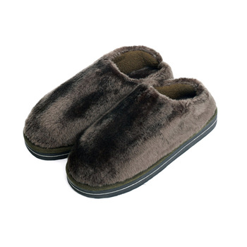 Men's Fleece Clog Slippers Plus Size House Shoes Winter Indoor Foot Warmer 3 Colors 3 Sizes Fit EUR 41-45 US 9.5-11.5