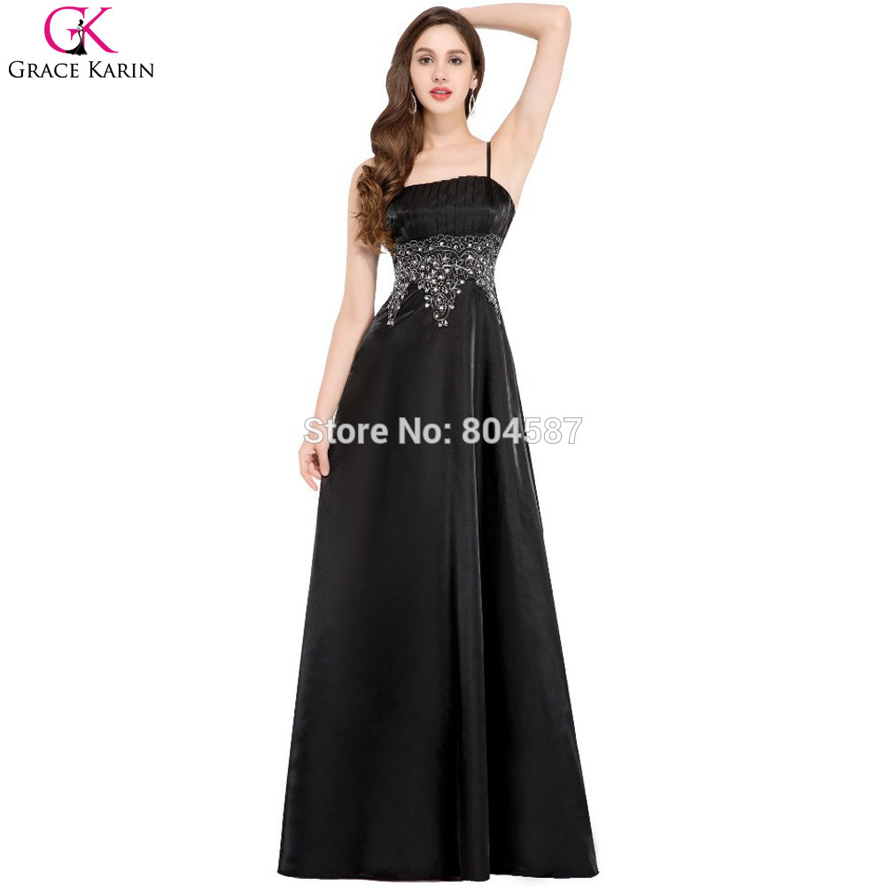 Popular Evening Black Dresses-Buy Cheap Evening Black Dresses lots ...