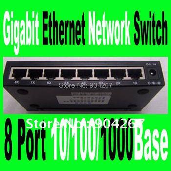 TH-1008G 8 Port 10/100/1000Base Gigabit Ethernet Network Switch switchboard Smart Gigabit Switch 8 Port Switch FreeShipping