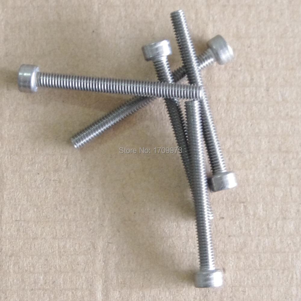 5 pieces Metric  M8*30mm GR5 titanium bolts hex screws Bike titanium screws<br><br>Aliexpress