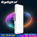 Bydigital 2 4GHz outdoor CPE bridge 150Mbps long range Signal Booster extender 2 5k Wireless AP
