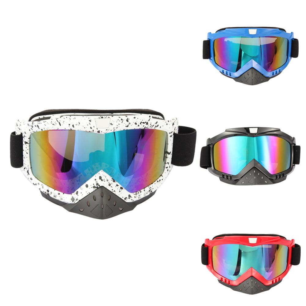 New Motorcycle ATV Dirt Bike Racing Dirt Bik Anti-UV Ski Skiing Goggles Glasses men women Snow glasses ski googles Hot Sale<br><br>Aliexpress