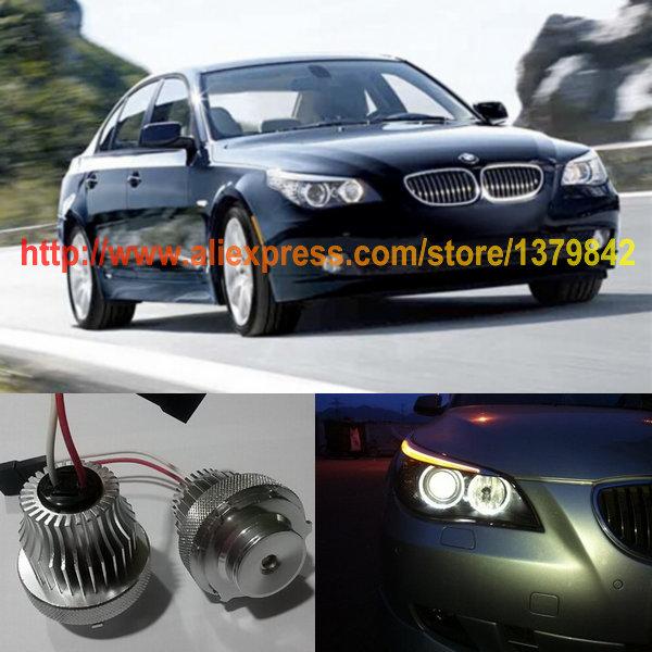 Free Shipping 2pcs/Lot Canbus No-Error 10W CREE High Power LED Angel Eyes For BMW E60 LCI E61 LCI 2007-2010 E71<br><br>Aliexpress