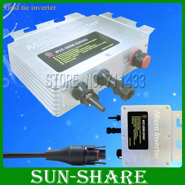 DHL free shipping High Tech, Directly to Japan/USA, IP 65 260w micro grid tie solar power inverter, 3year warranty 10pcs/lot