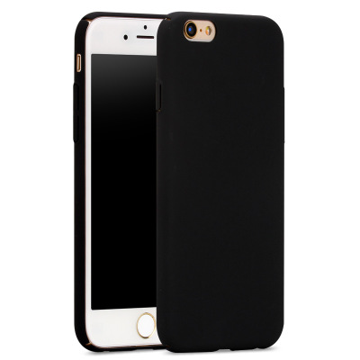 For iPhone 6 Case Fashion Rubberized Matte Frosted Plastic Case For iPhone 6S/6 Plus/6S Plus/7 Plus/Cover Cell Phone Cases(China (Mainland))