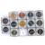 PCD Профессиональный Брови Микро Татуировки Набор Чернил Губы Microblading Перманентный Макияж Пигмент Colorfastness 1 Шт. 14 Цвет Опционный