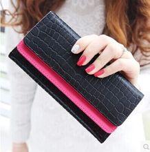 New 2015 Women Wallets Quality Leather Brands Famous Woman Wallet Lady Fashion Clutch Woman Purses Cowhide Wallets