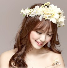 flower garland crown wreath