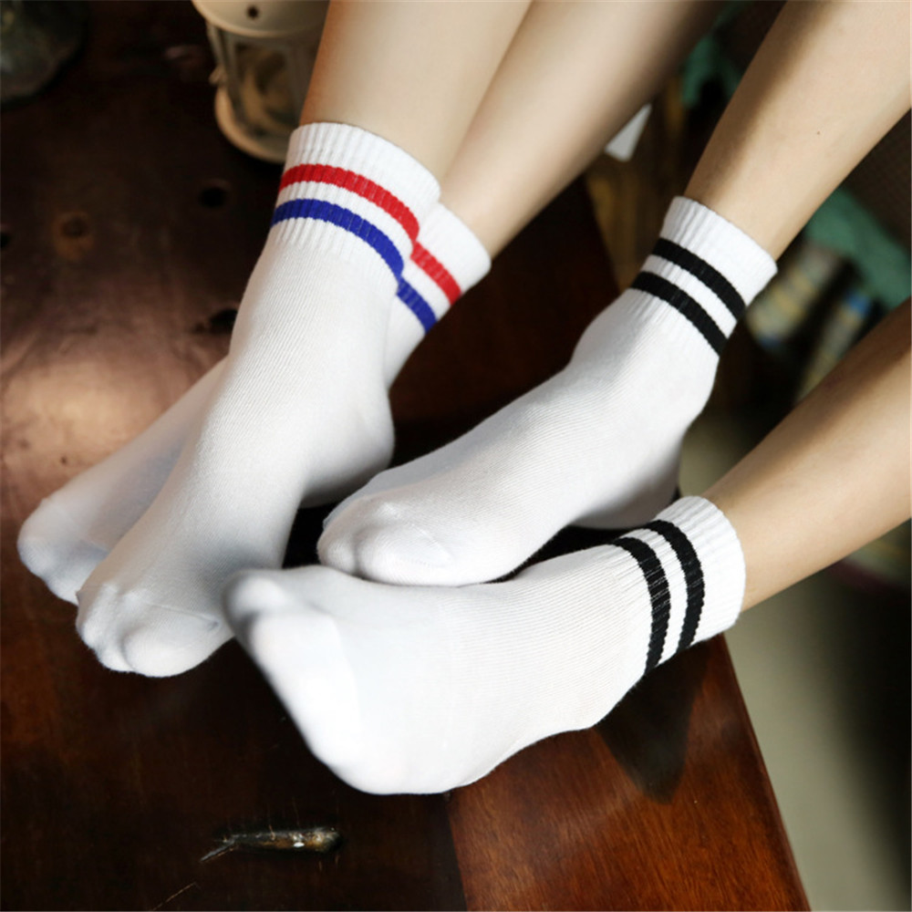 2016 women men socks cute candy thin invisible 100% cotton socks high/boat Casual Sports socks solid color four seasons styles(China (Mainland))