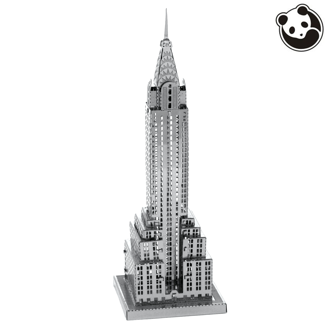 Pandamodel@Construction Famous Buildings Over The World 3D Metal Model Puzzles CHRYSLER BUILDING Chinese Metal Earth(China (Mainland))