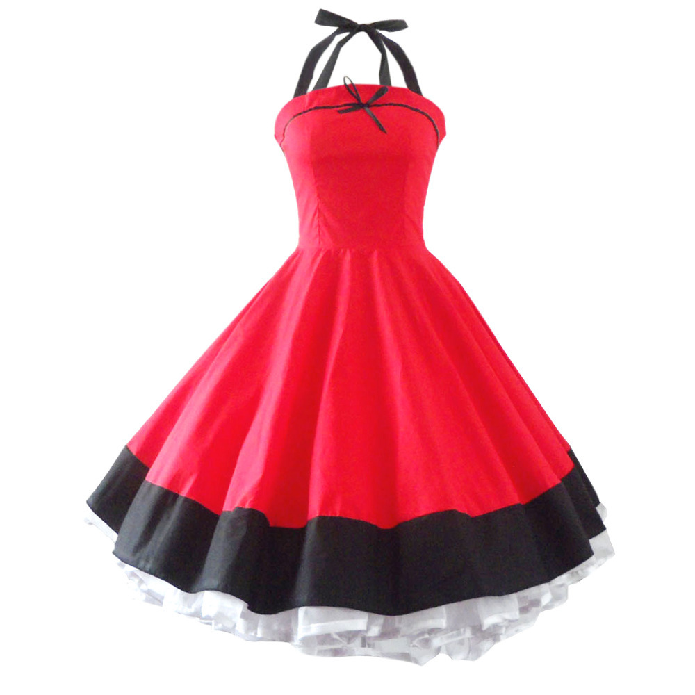 Prom dress girl 50s outfits