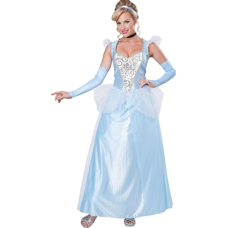 New 2015 China Grownup Girls Chiffon Overlay Princess Costume Cosplay Halloween&Movies and Game Fancy Dress Costumes L15243 L15243 (3)800x800