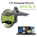 Gashin BEST Universal Cd Slot Car Mount holder Of With Flexible 360 Rotation mobile phone holder