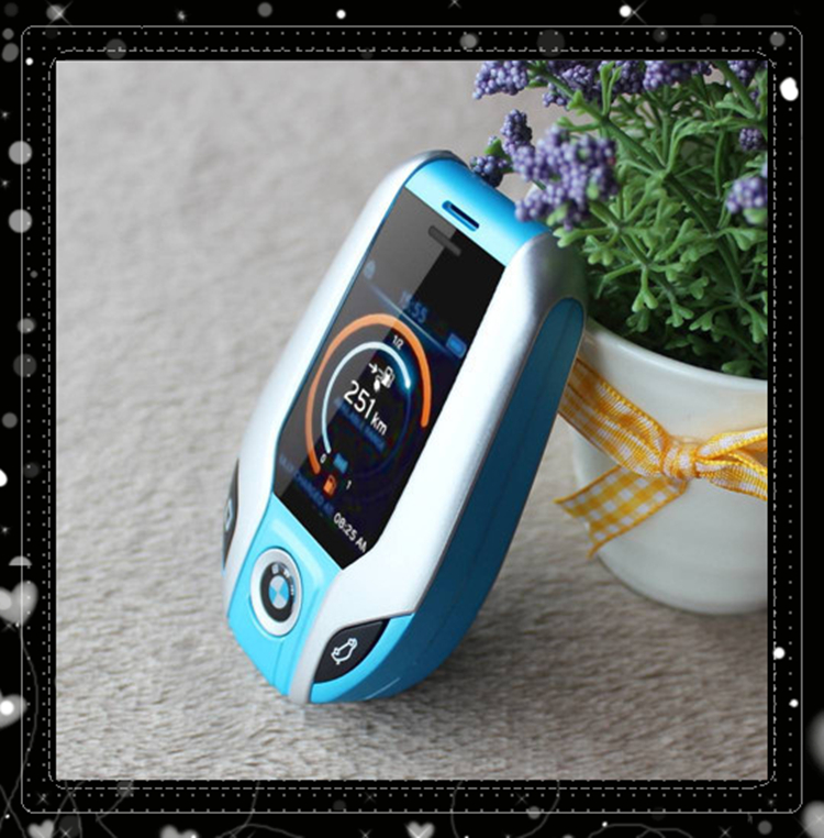 2016 Car Key mini phone I8 car mobile phone mini pocket phone students personality children Gift most thin I8 car cell phone(China (Mainland))