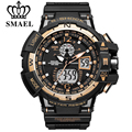 SMAEL Men Fashion Watch Sports Military Style Man Luxury Analog Electronic Quartz Digital Dual Display Watches