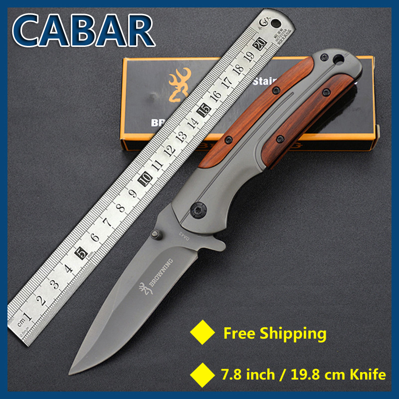 Cabar 2015 New Arrival 85mm Single Blade Hunting Camping Diving Outdoor Knife Top Quality Blade Free