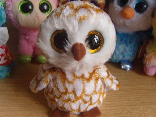 Коллекция шапочки большие глаза плюшевые игрушки куклы сова налетает