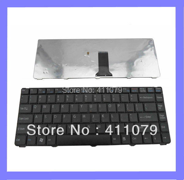New FOR Sony VGN-NS21E VGN-NS21ER VGN-NS21M Series Laptop US Keyboard Black Layout Accessories Replacement Parts Wholesale(K102)(China (Mainland))