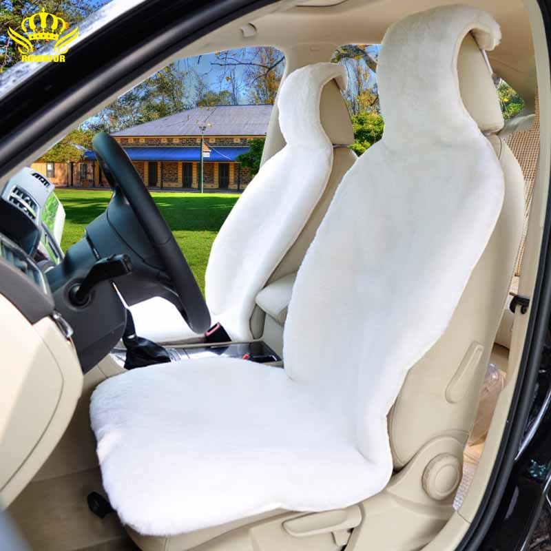 2016 new universal hot selling genuine 100 sheepskin car for Motor sheep seat covers