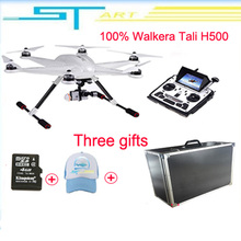 2016 Walkera TALI H500 Quadcopter DEVO F12E Transmitter G-3D Gimbal GPS FPV Drone with Ilook Plus Camera with Case EMS Free Ship