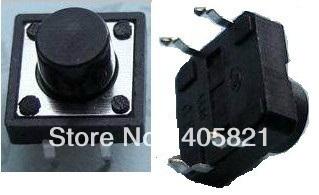 Тактильные кнопочный переключатель, такт Switch 4pins 12*12*4.3