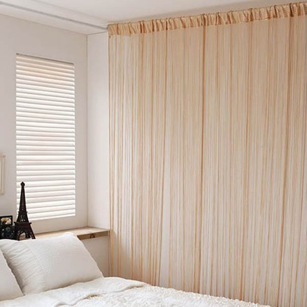 Fringe string curtain panel for wind end 9 24 2017 3 47 pm - Partition room with curtains ...
