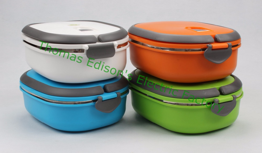 900ml Stainless Steel Bento Lunch Box for Kids Thermal Food Container Food Box Portable Lunchbox kitchen square(China (Mainland))
