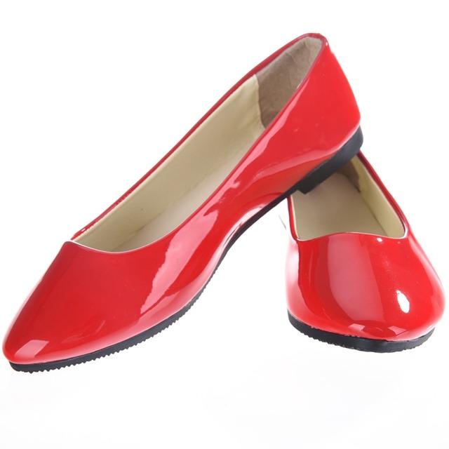Новинка женщин дамы балерина туфли-тапочки плоские туфли круглый носок сладкие весна ...