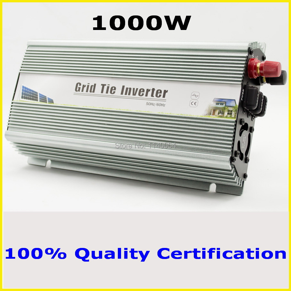 1000W 36V Grid tie micro inverter, 24V-48VDC to AC90V-140V or 190V-260V home use mppt solar wind power inverter 1000W-1200W(China (Mainland))