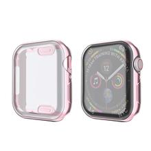 ProBefit 360 градусов Тонкий чехол для часов для Apple Watch 3/2/1 42 мм корпуса 38 мм мягкий прозрачный TPU Экран протектор для iWatch 4 44 мм 40 мм(China)