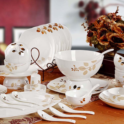 Wedding Gift Dinner Set : bone china dinnerware set 60 quality wedding gift-inDinnerware Sets ...