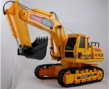Wholesale and retail Children's Toys&Christmas gifts&Excavator&Wireless remote control truck large excavators