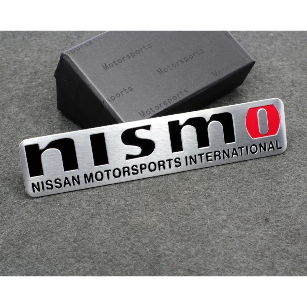 Car Styling Accessories Emblem Badge Decal Sticker NISMO Racing Motorsport GTR TIIDA LIVINA QASHQAI X-trail Altima SUNNY(China (Mainland))