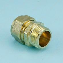 10 Stücke Außengewinde Pex Rohr Adapter Stecker Sanitärarmaturen S1216 * 1/2(China (Mainland))