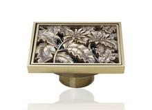 e-pak Best Price Beautiful L5402 Antique Brass Gravity Flushing Construction & Real Estate Bathroom Floor Drain