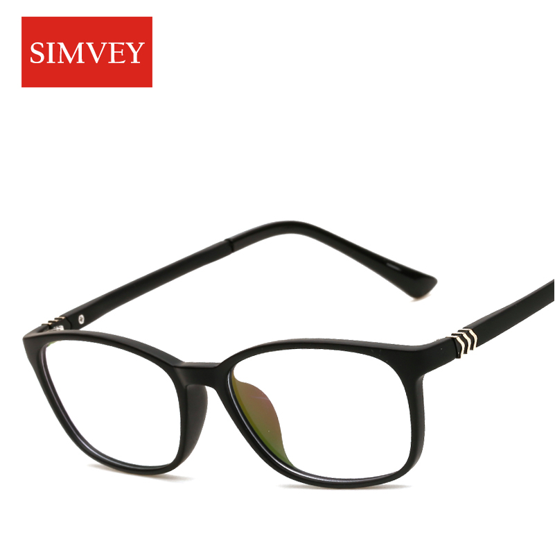 simvey fashion korean glasses frames clear lenses optical nerd glasses women brand designer eyeglass frames tr90