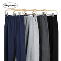 Spring Cotton Pajama Pant Men Solid Pajama Trousers Sleep Bottoms Lounge Pantalon Piyamas Jovenes Pijama Loose
