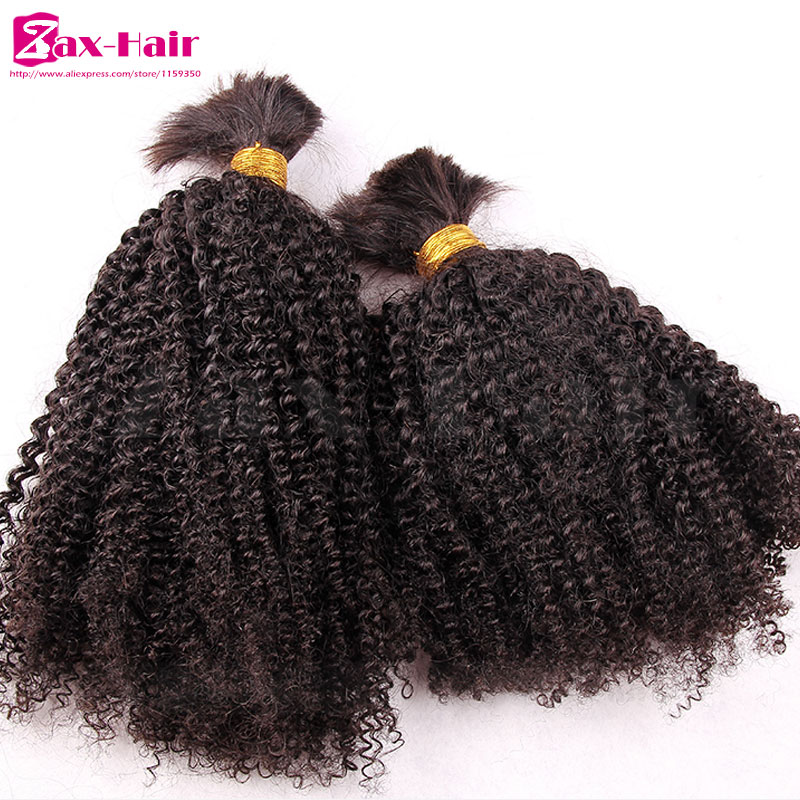 High Quality Bulk Hair For Braiding Discount Fashion Human Hair Extensions Virgin Human Hair Brazilian 100% Unprocessed Grade 7A