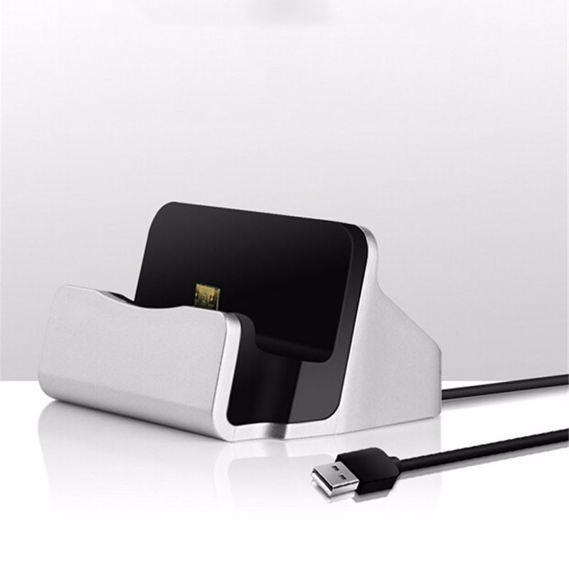 Micro USB Type C Dock Stand Station Phone Charger For Huawei P8 P9 Lite Samsung Galaxy S5 S6 S7 Edge J3 J5 A3 A5 OnePlus 3