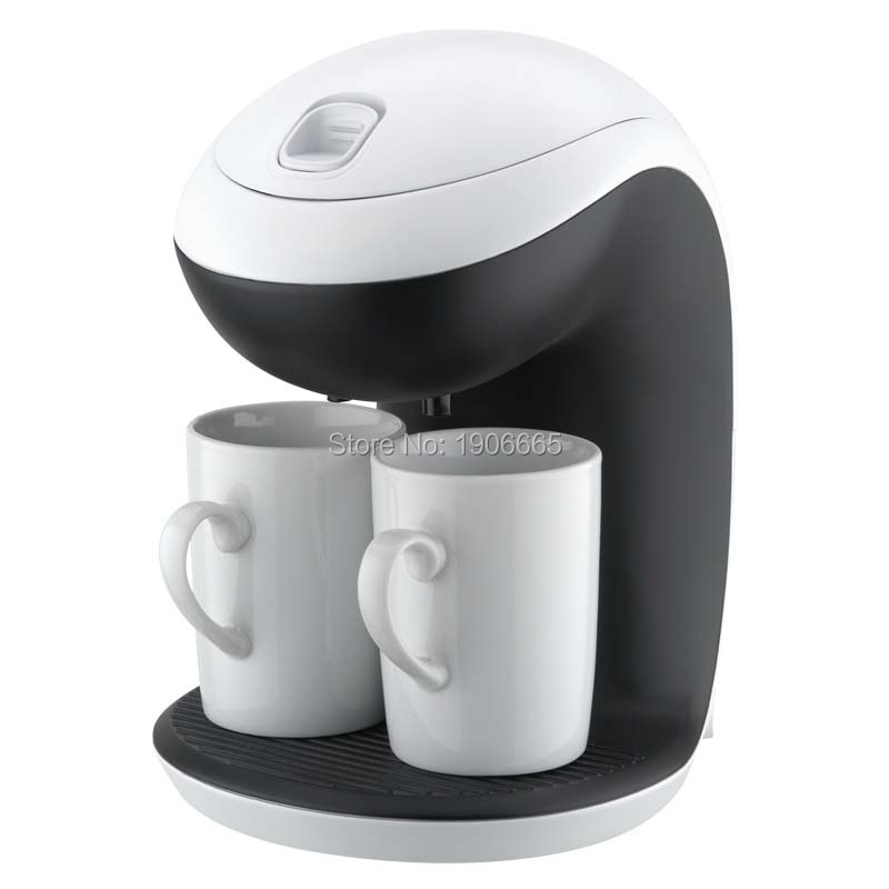 Drip coffee maker 2 Cup 350W Small Kitchen appliances Mini Cafe machines Electric 220-240V(China (Mainland))