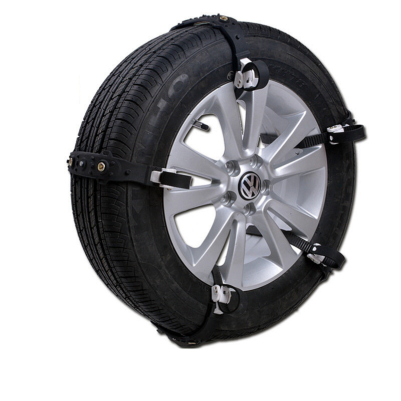 2016 New Hot 10PCS/ Set AAAAA Grade Universal High Quality Rubber Simple Installation Winter Snowfield Car Tire Anti-skid Chains(China (Mainland))