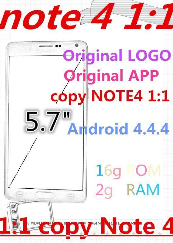 "FREE New arrive 5.7"" star perfect 1:1 Note 4 phone Octa Core mtk6592 3G ram 32G rom mobile phones 1920*1080 note4 cell phone(China (Mainland))"
