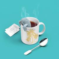 2 pcs  Manatea Infuser / Mana tea Mana Tea Strainers Manatee / Sea Lion Strainer ( Mr. tea series )