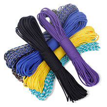 84 colors New Paracord 550 Paracord Parachute Cord Lanyard Rope Mil Spec Type III 7 Strand 100 FT FREE SHIPPING