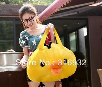 I2 Rilakkuma series large yellow chick plush hand bags / Backpack , Free shipping, Christmas gift