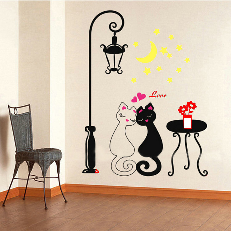 Promowall Stickers Home Decor Vinyl Wall Decor Home Accessories Decal Removable Art Free